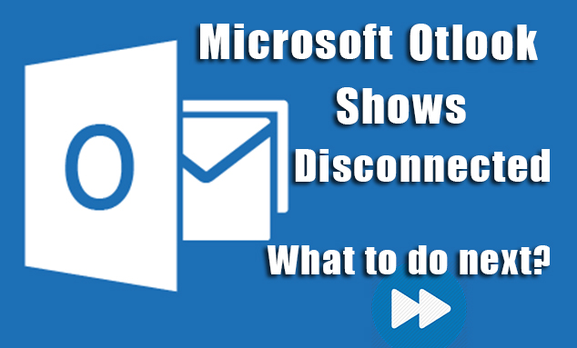 Microsoft-outlook-disconnected