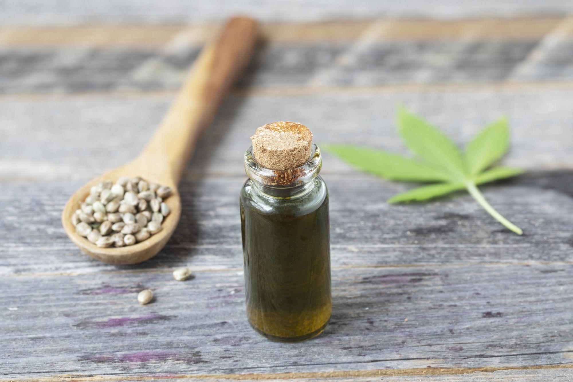 Small Bottle of CBD Oil