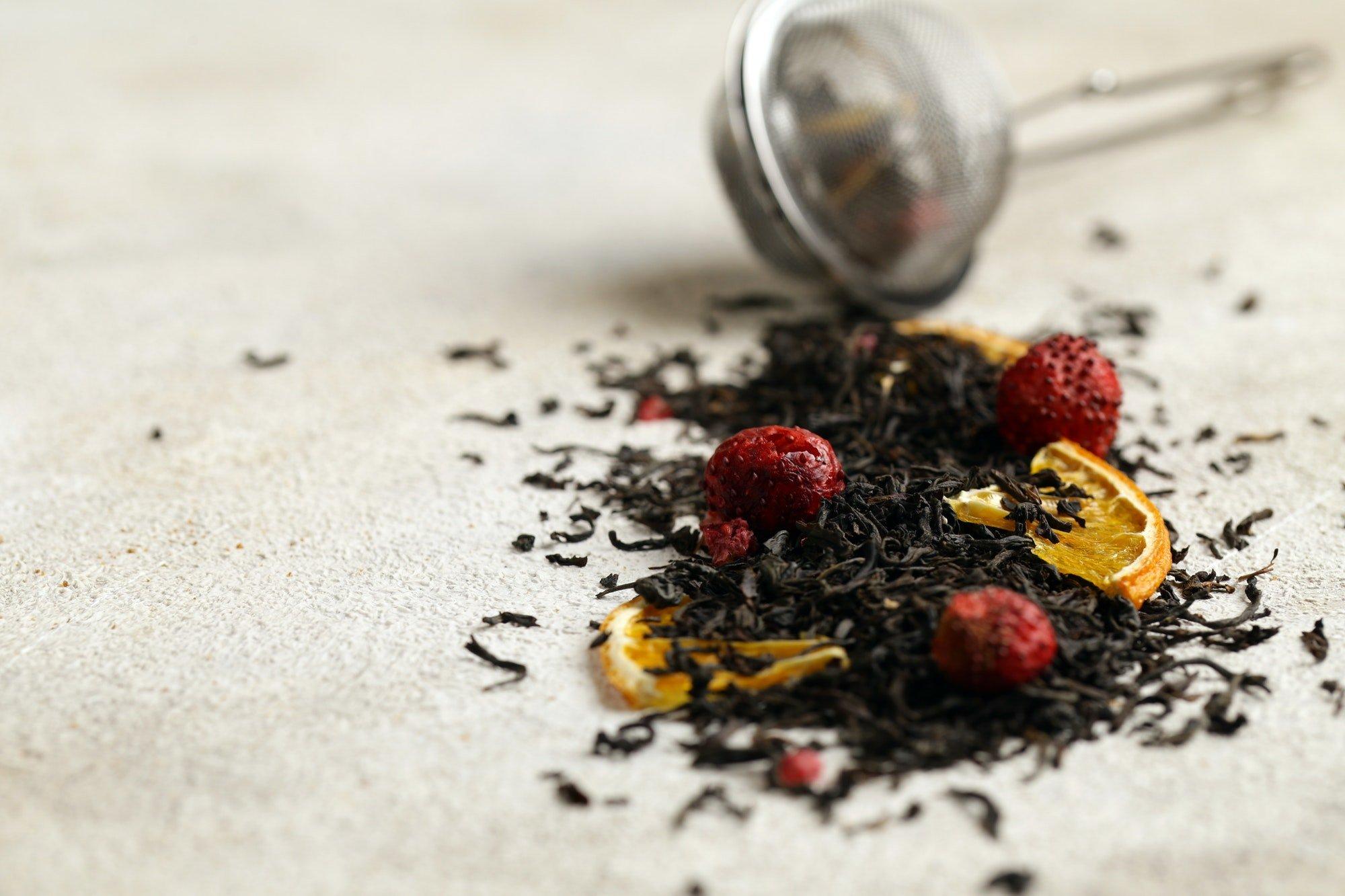 Black Tea with Berries
