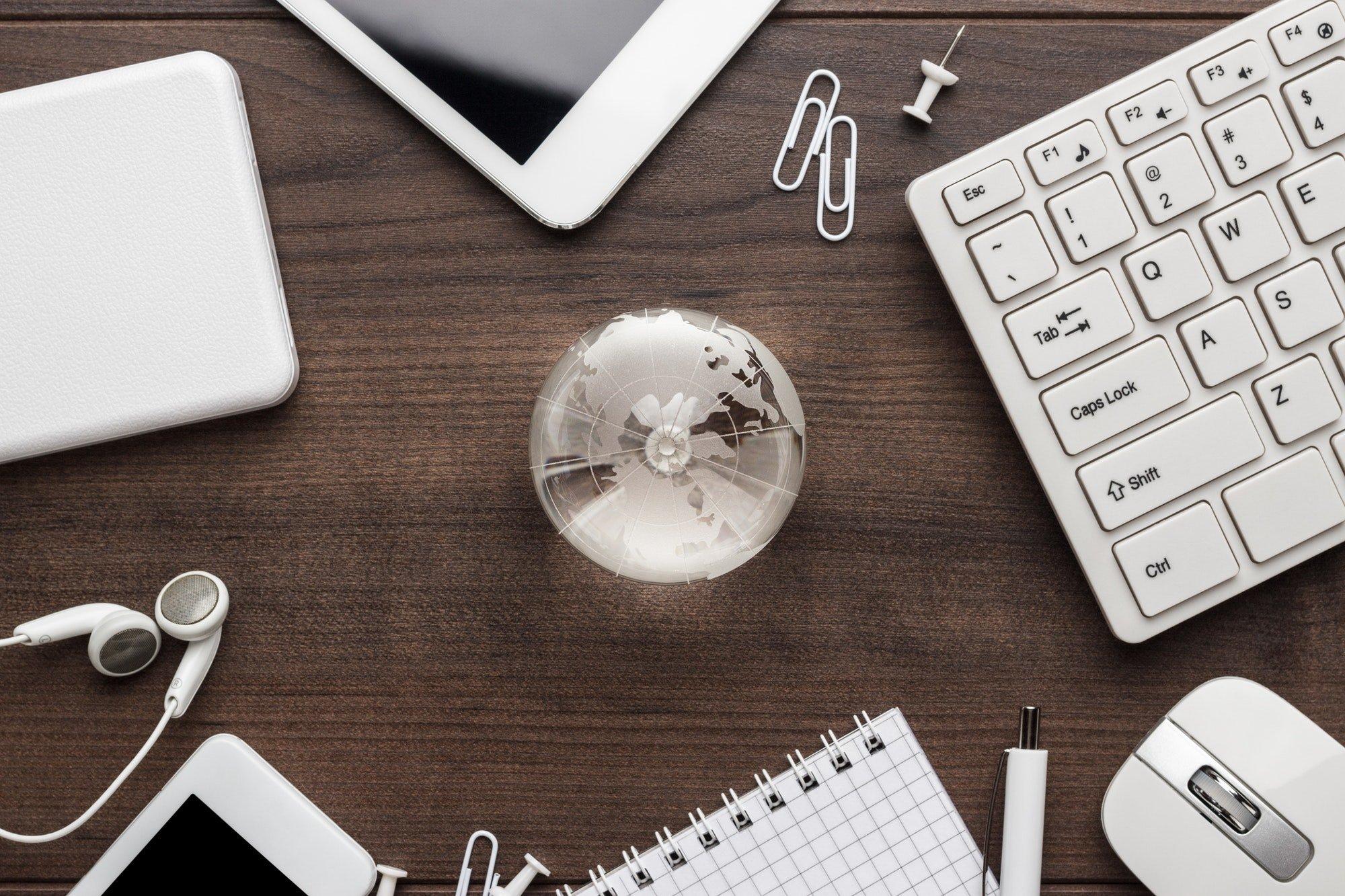 Working Online Concept