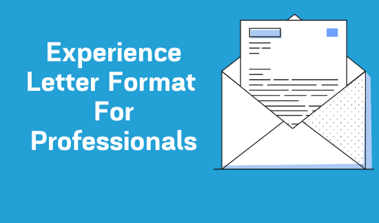experience-letter-format