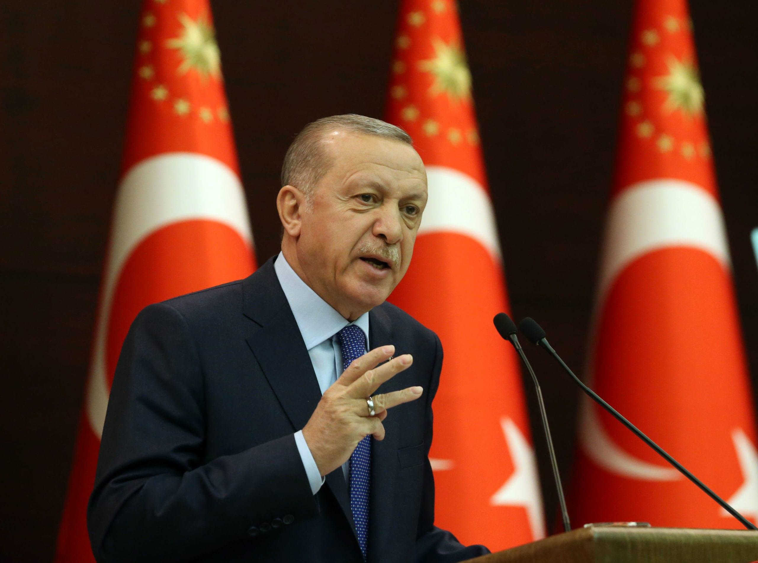 Erdogan Größe