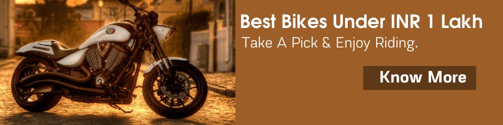 bikes under 1 lakh