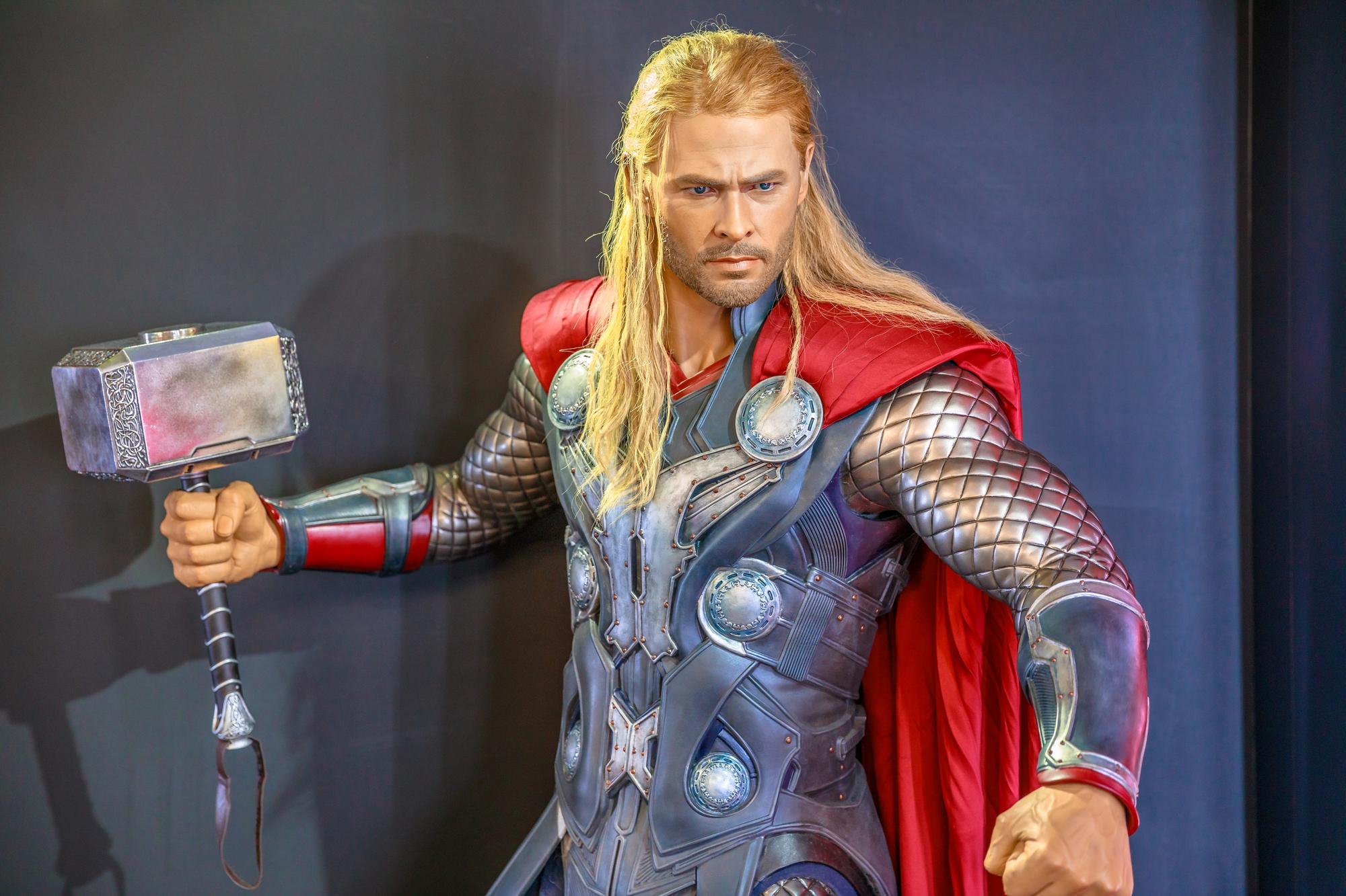 Thor Marvel portrait