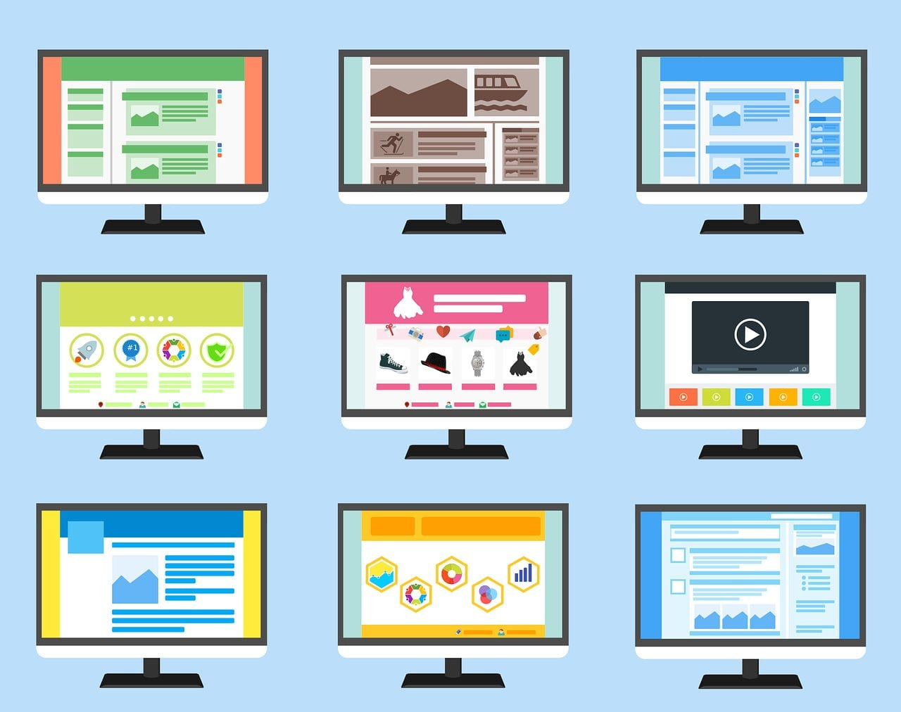 design interface for websites