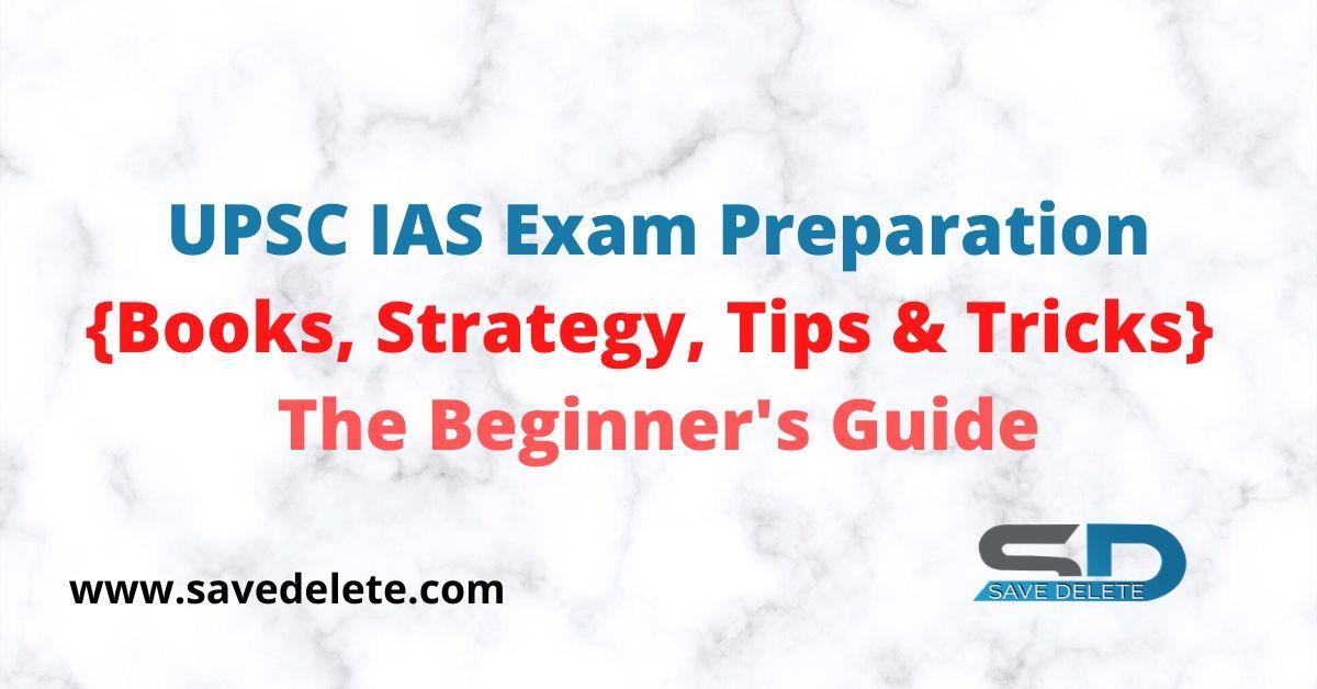 UPSC IAS Exam Preparation