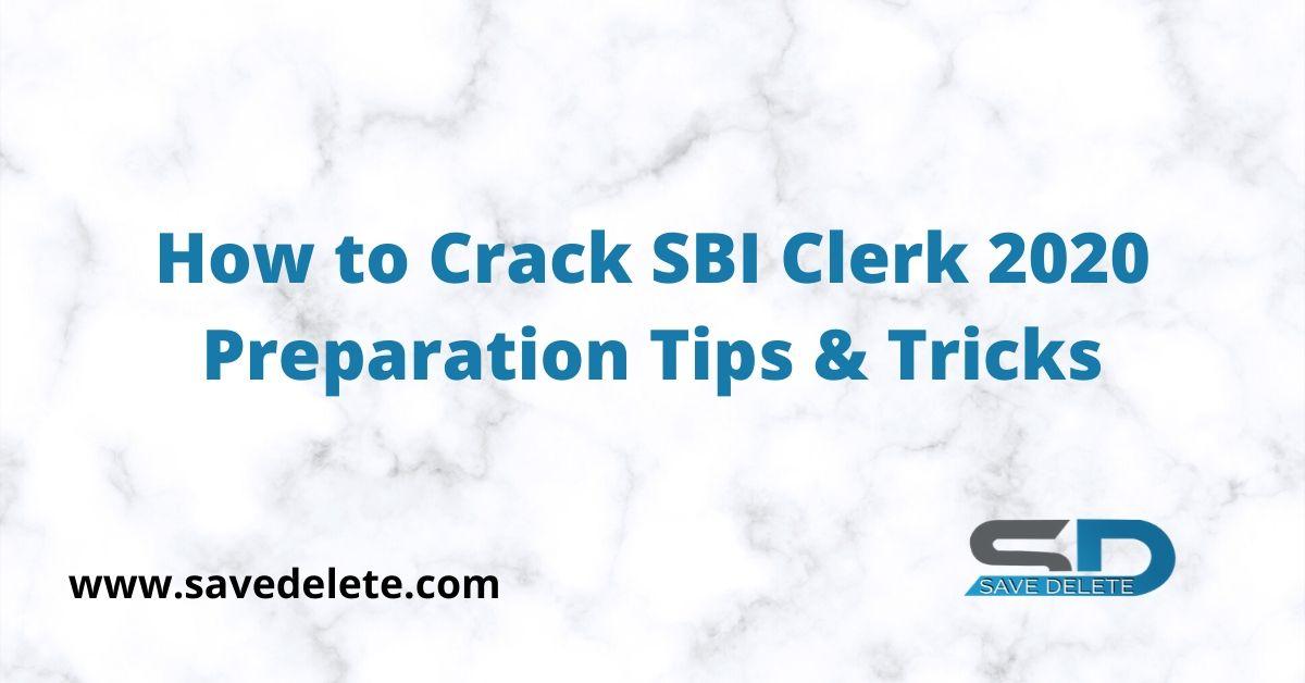 Crack SBI Clerk 2020