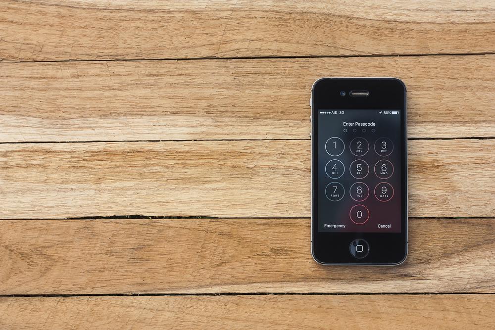 Forget iPhone Password