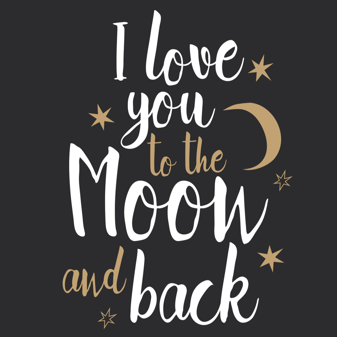 Love DP - I love to the moon and back quote