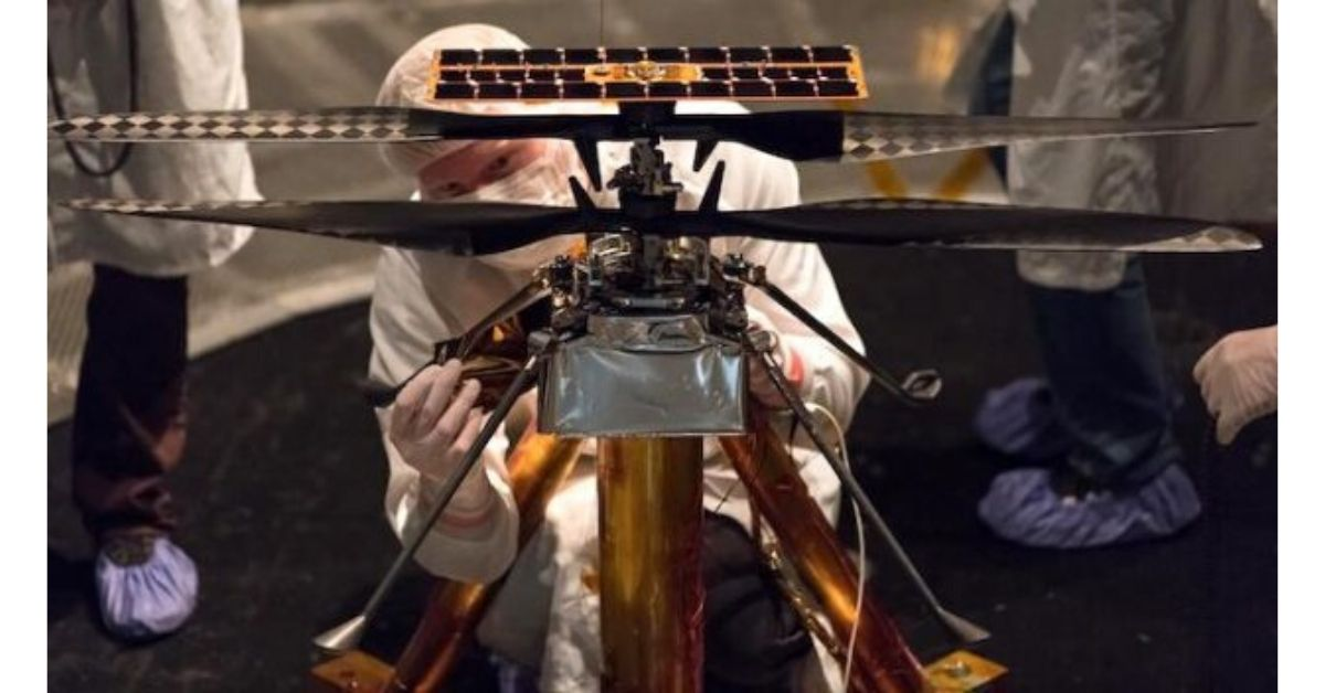 Nasa's First Mars Helicopter
