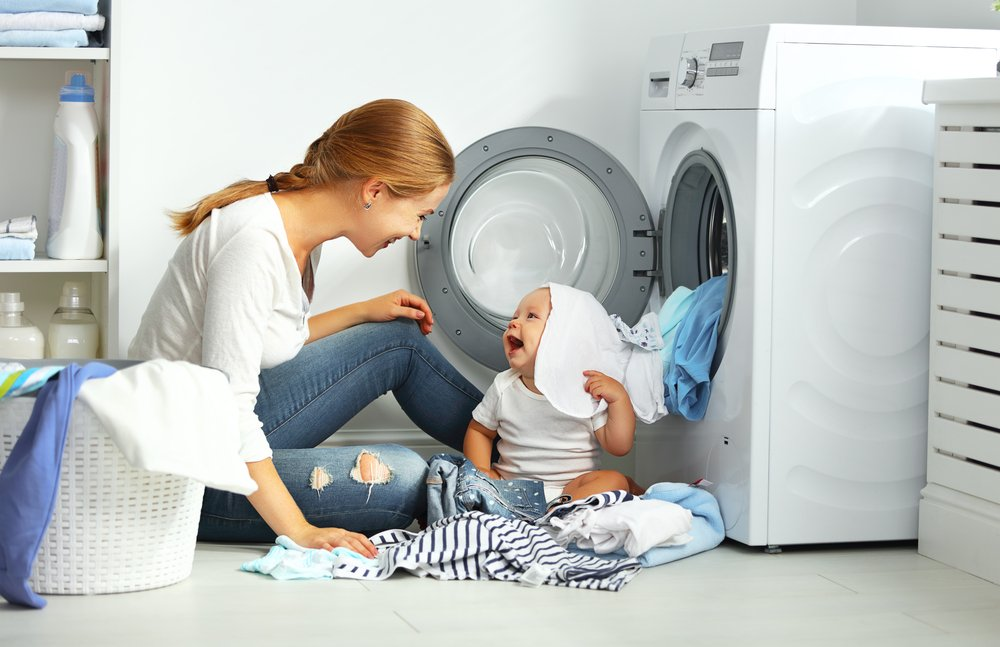 Washing Baby Clothes