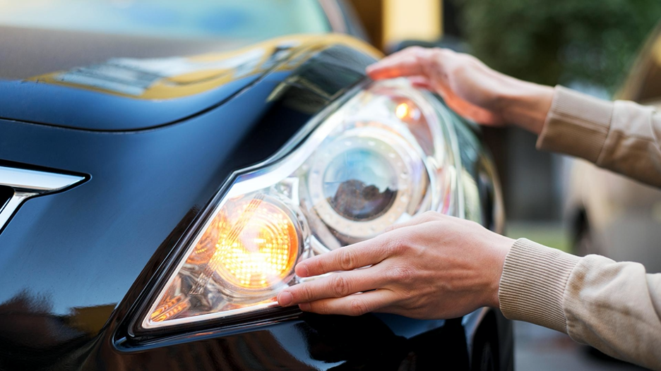 headlights on your car