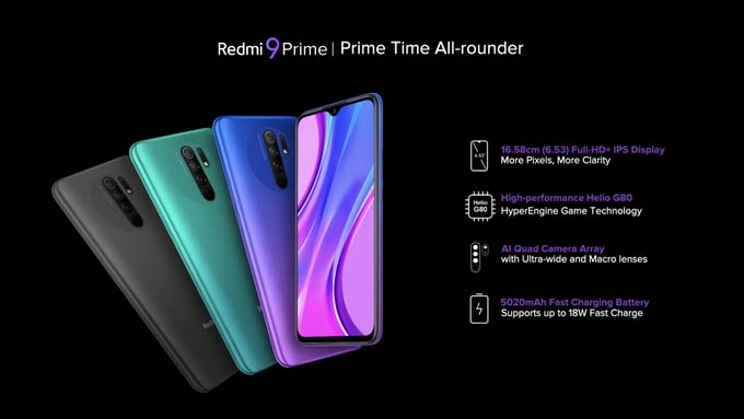 Xiaomi launches affordable Redmi 9 Prime in India | SaveDelete