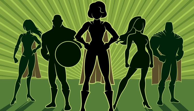 team superheros