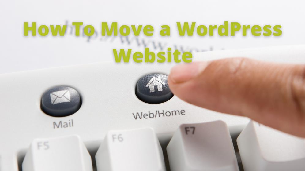 move a WordPress website
