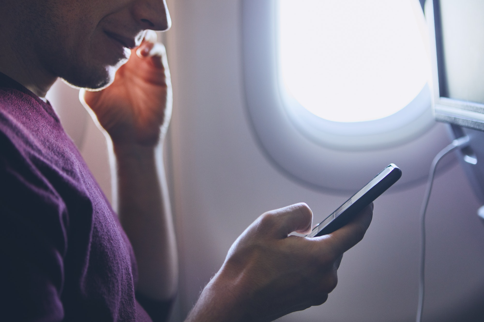 Connection during flight