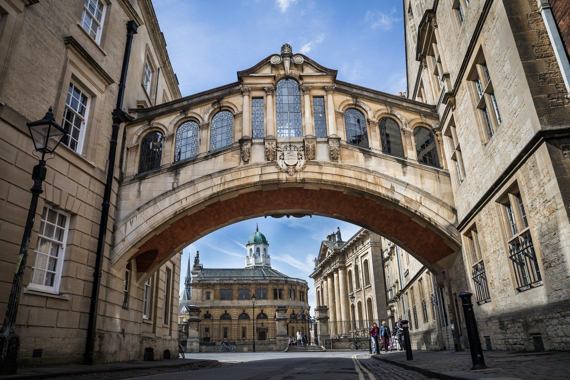 Oxford, Bridge of Sighs