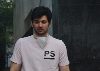 Actor Karan Deol seen at Bandra in Mumbai