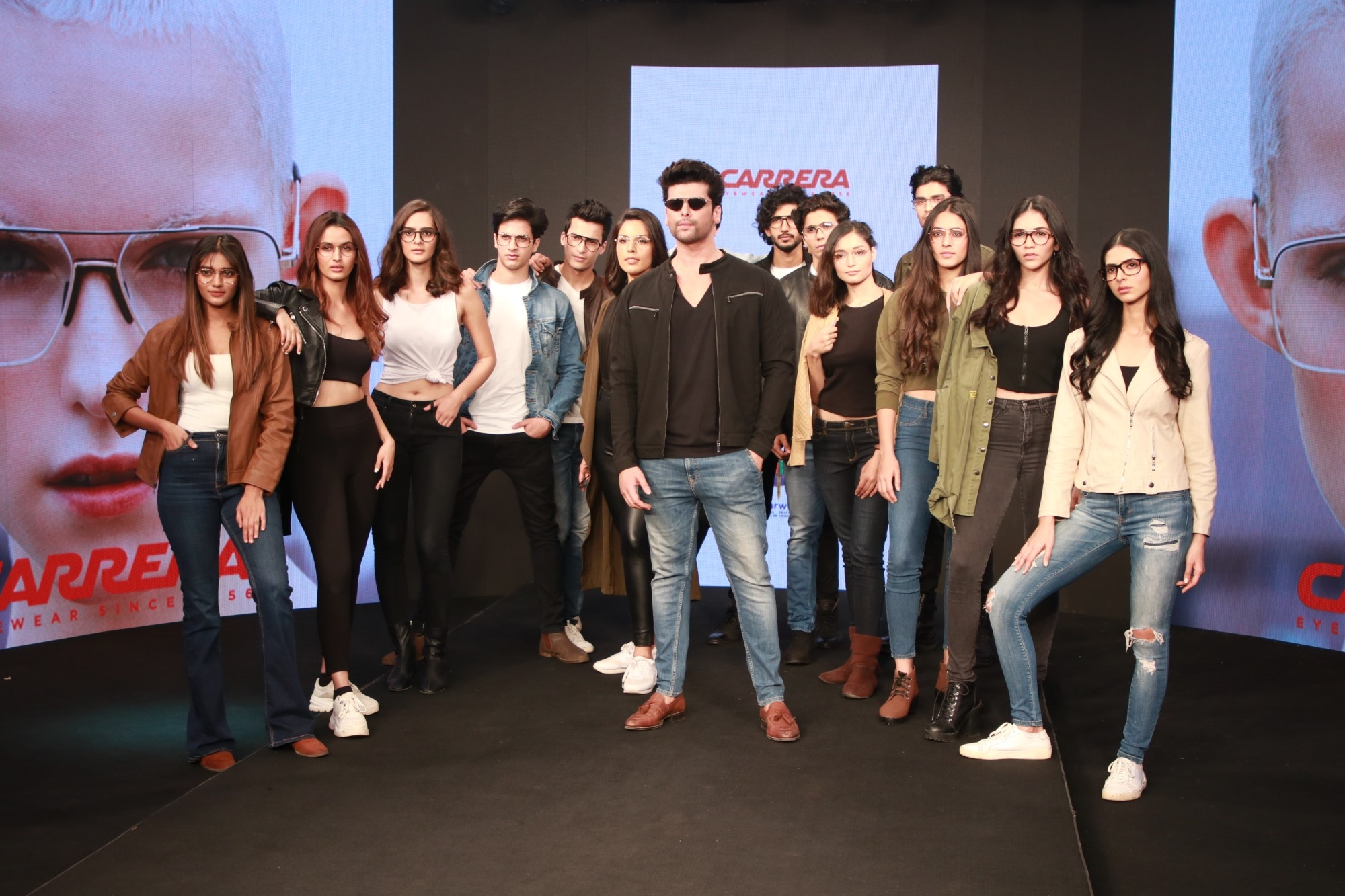 Actor Kushal Tandon on the ramp with models on Day 2 of the Bombay Times Fashion Week, in Mumbai