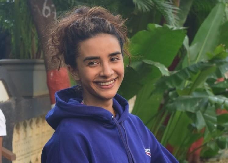 Actress Patralekha seen at a Bandra gym in Mumbai