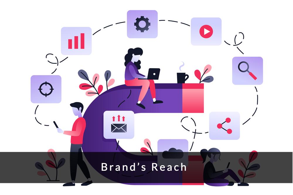 brand's reach