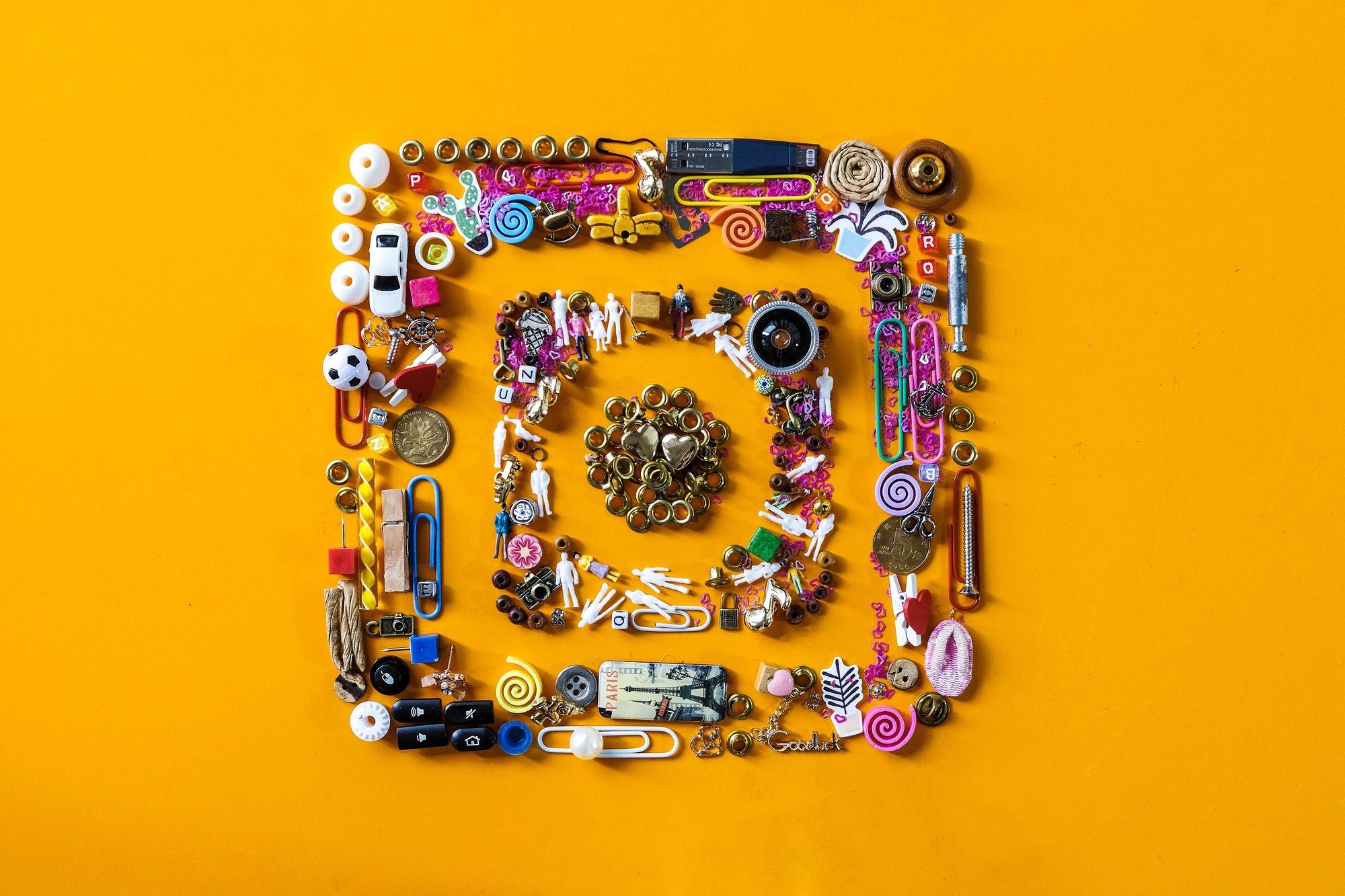 colorful social media: instagram Nominated ??❤️♥️