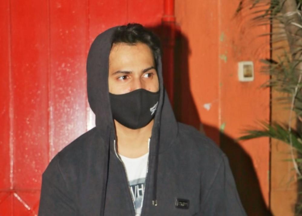 Actor Varun Dhawan seen at Andheri in Mumbai