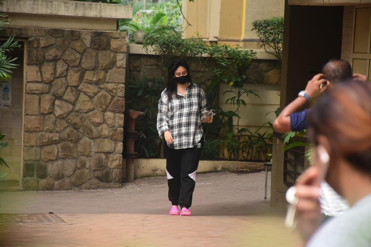 Actress Kareena Kapoor seen at Bandra