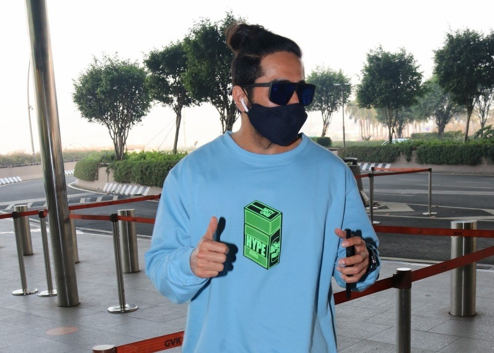 Ayushmann Khurrana Spotted At Airport Departure