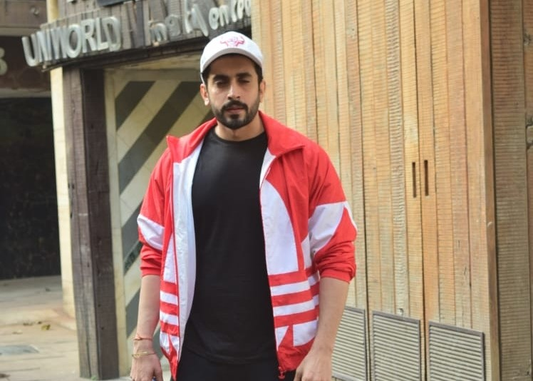 Bollywood Actor Sunny Singh spotted at gym