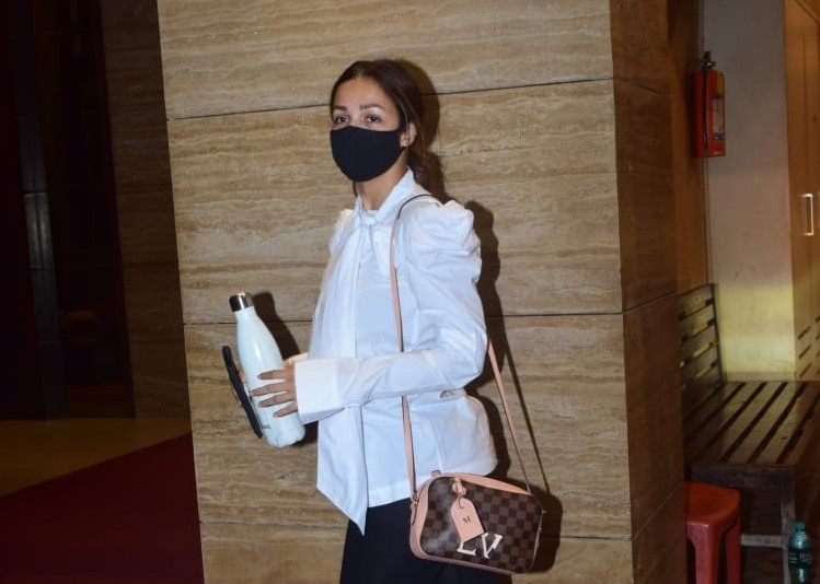 Bollywood Actress Malaika Arora Spotted in Bandra