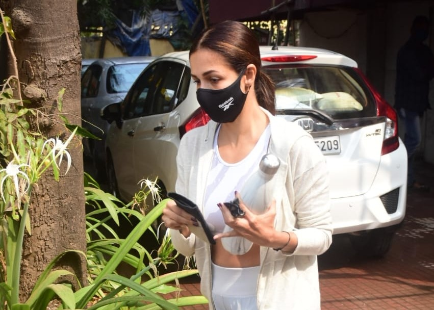 Arora Spotted At Bandra