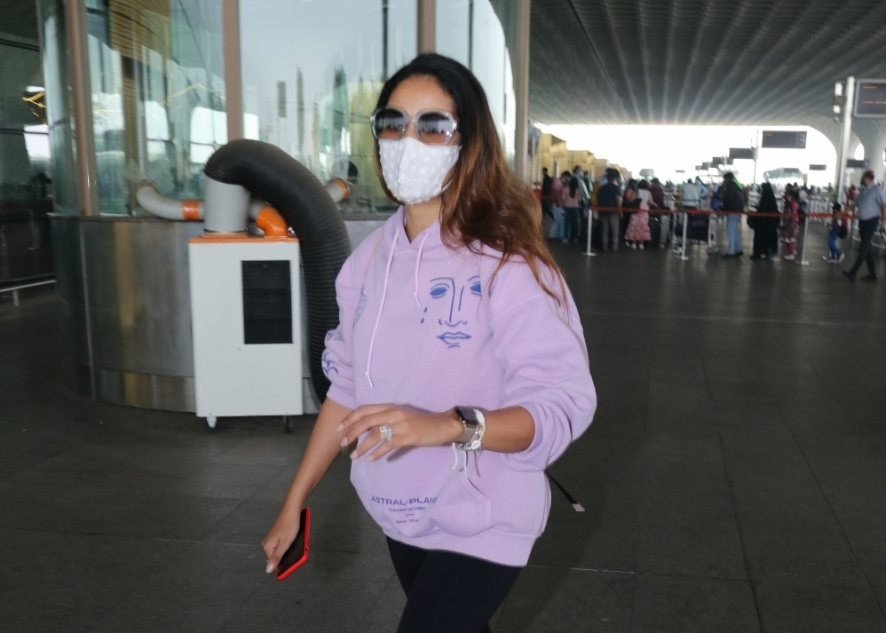 Mira Rajput Spotted At Airport Departure