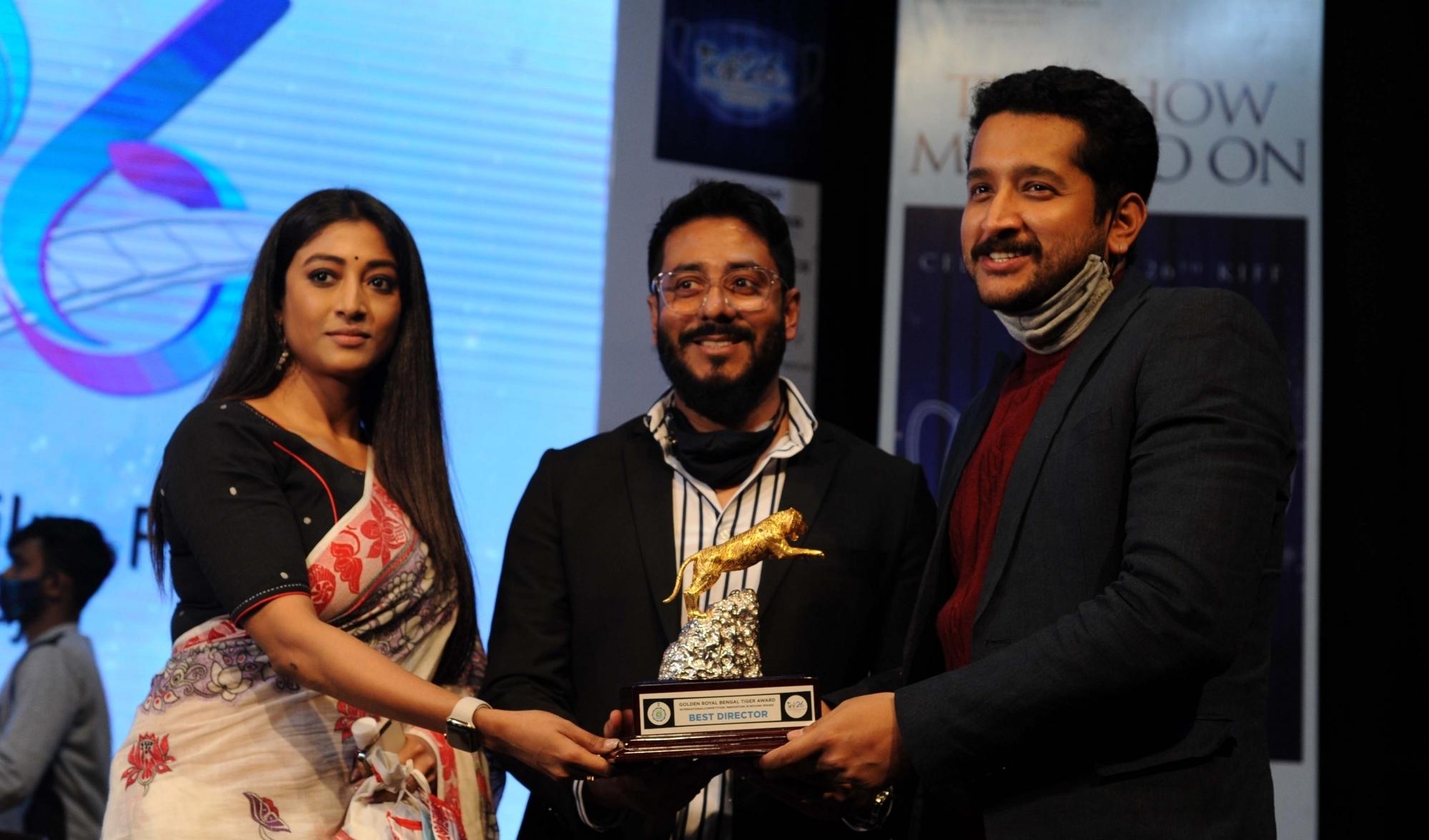 Press meet of 26th Kolkata International Film Festival (KIFF) in Kolkata