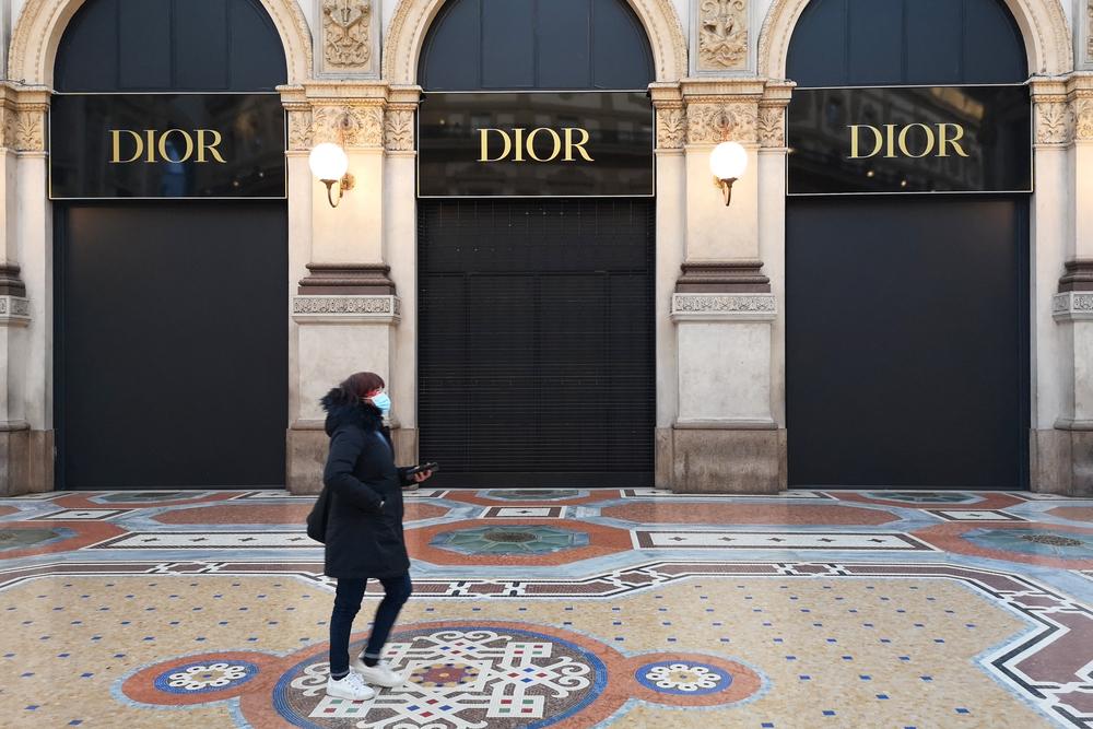 Italian fashion stores