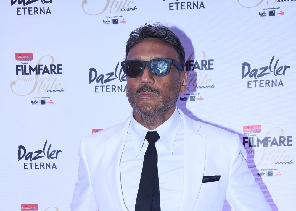 """Actor Jackie Shroff at the red carpet of """"Filmfare Glamour & Style Awards 2017"""" in Mumbai"""