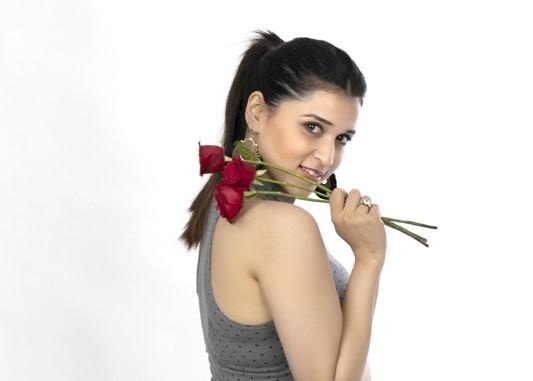 Mannara Chopra Valentine's Day Photos