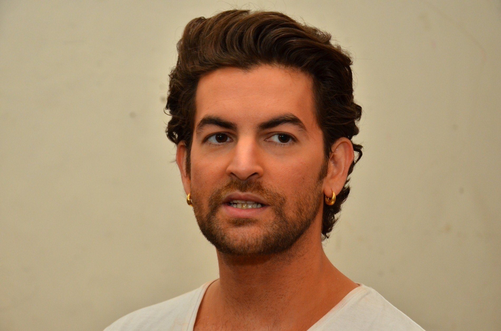 Actor Neil Nitin Mukesh during his debut shoot for PETA (People for the Ethical Treatment of Animals)