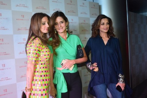 Sandeep Khosla Abu Jani fashion event at Lodha world towers in lower Parel