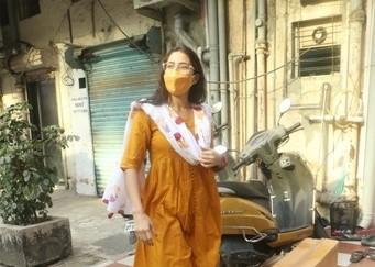 Sara Ali Khan spotted in Andheri