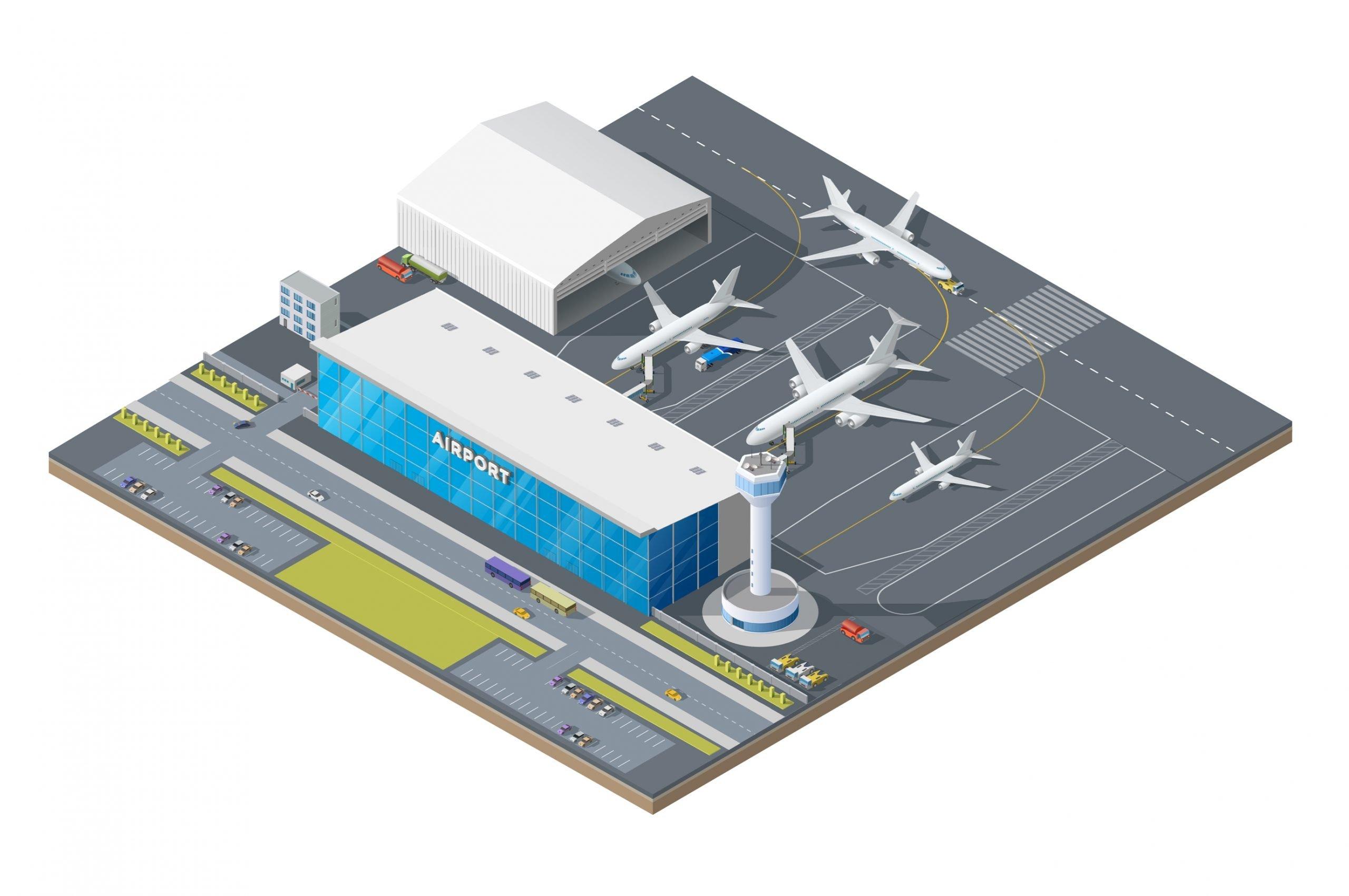 Aviation tower 3D