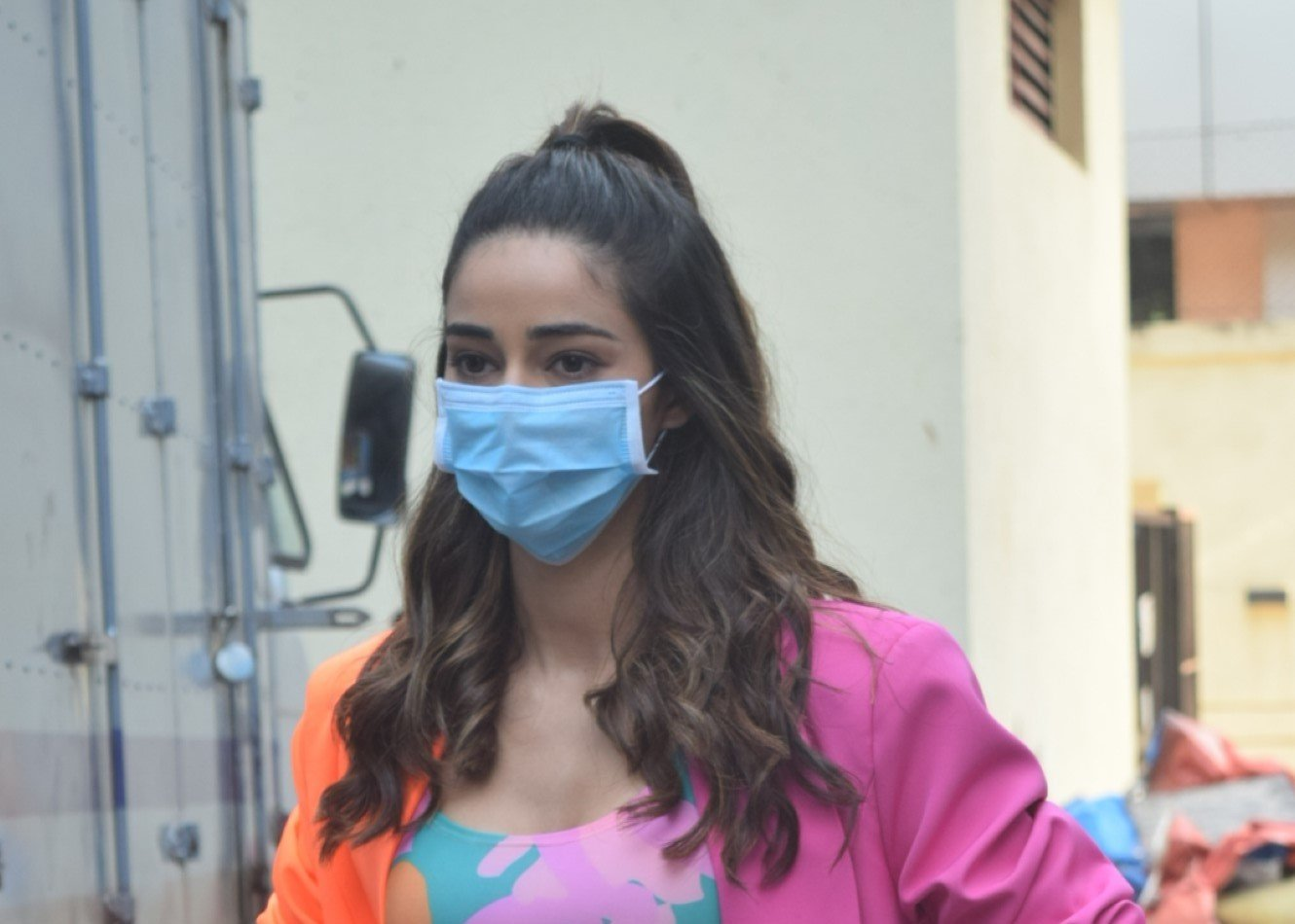 Ananya Panday Spotted After Adv. Shoot In Andheri