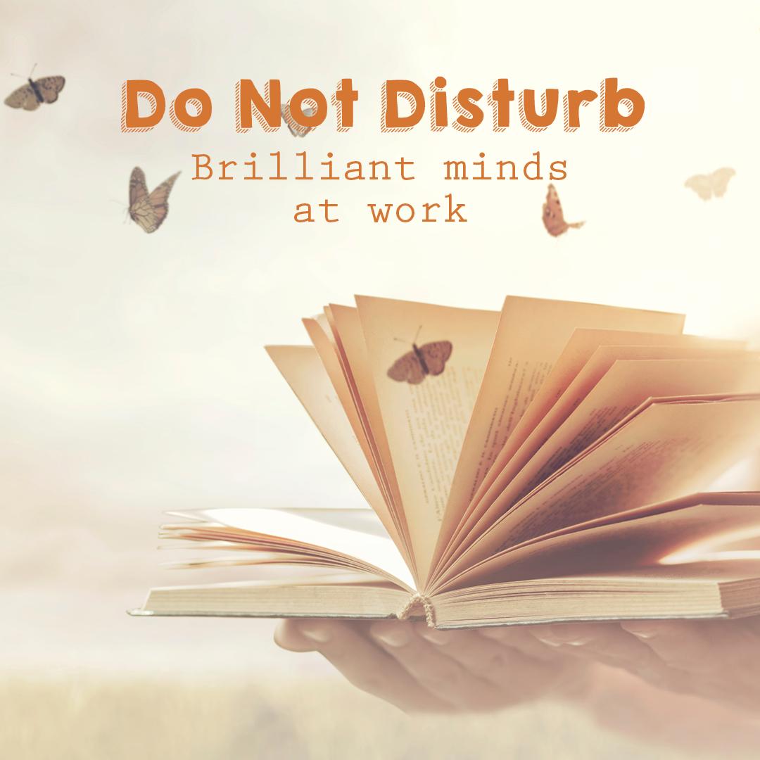 Do Not Disturb, Brilliant Minds At Work