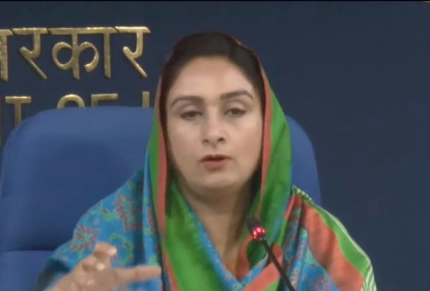 Akali Dal MP Harsimrat tests Covid-19 positive
