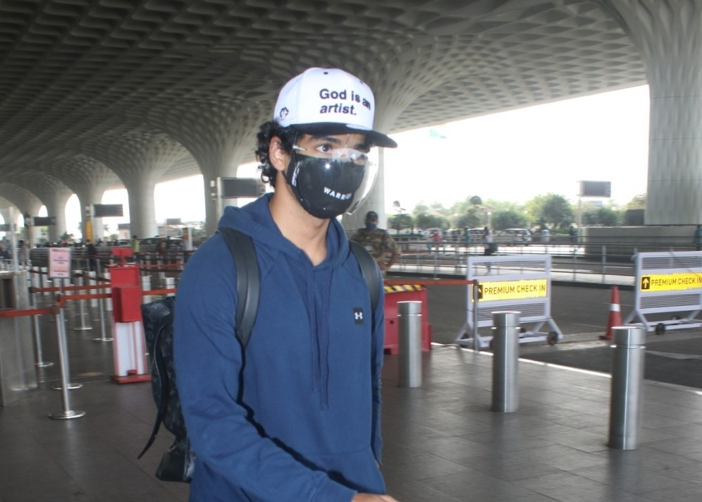 Ishaan Khattar Spotted at Airport Departure