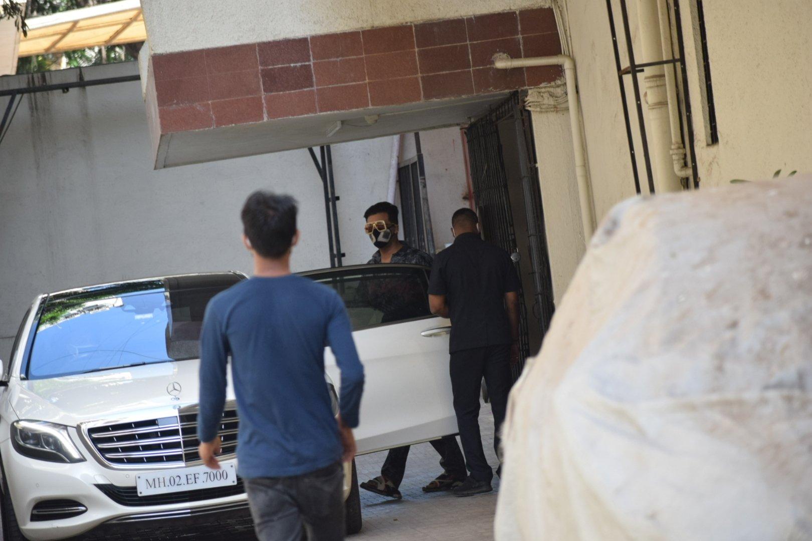 Karan Johar spotted at khar