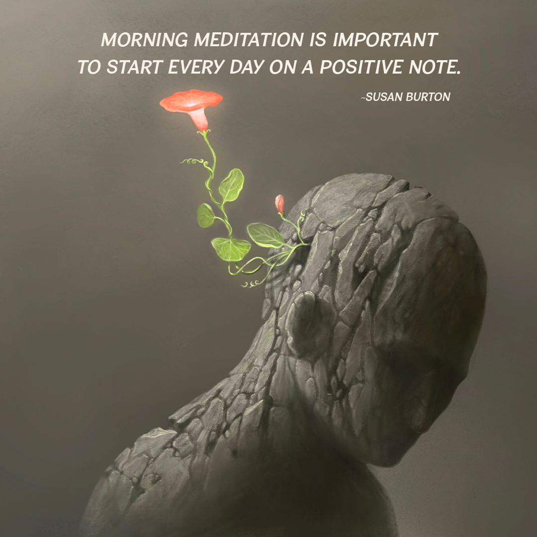 Morning Meditation Is Important To Start Every Day On A Positive Note.