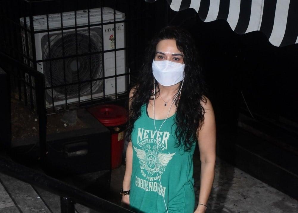 Priti Zinta spotted in Bandra