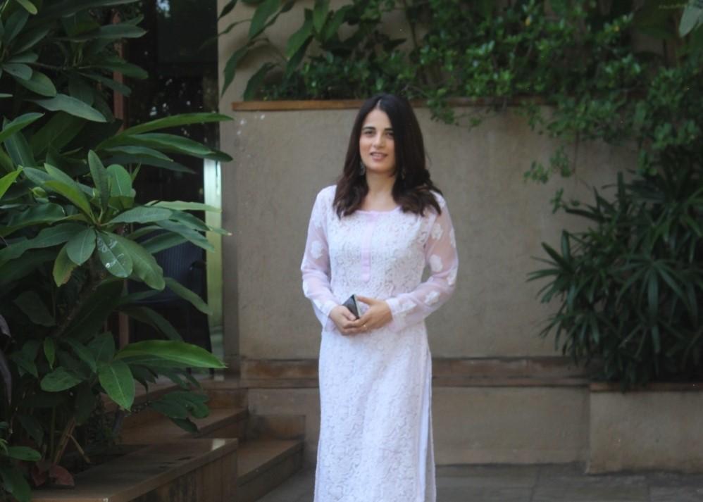 Radhika madan snapped in juhu