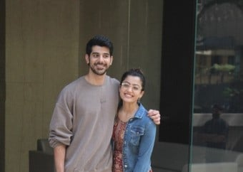 Mandana & Pavail Gulati snapped at Khar